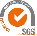 SGS ISO 14001 FR TCL LR